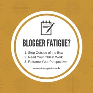 Blogger Fatigue: # steps to getting back on the blog path