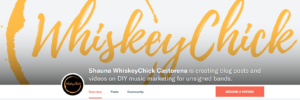 Support WhiskeyChick on Patreon!